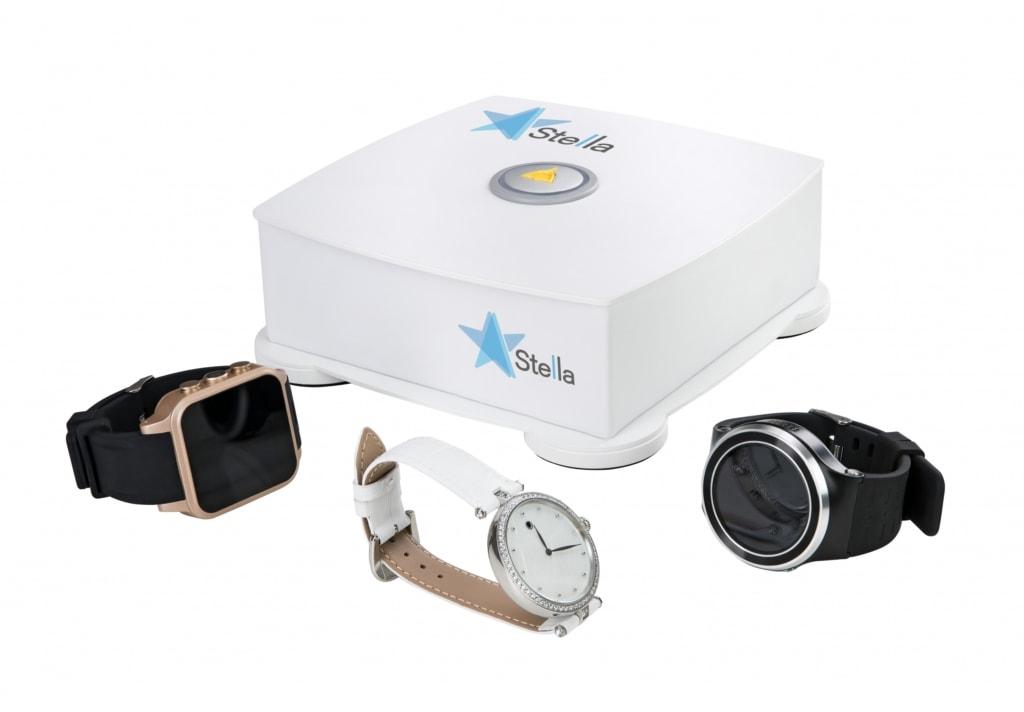 Stella Basisstation mit Uhren