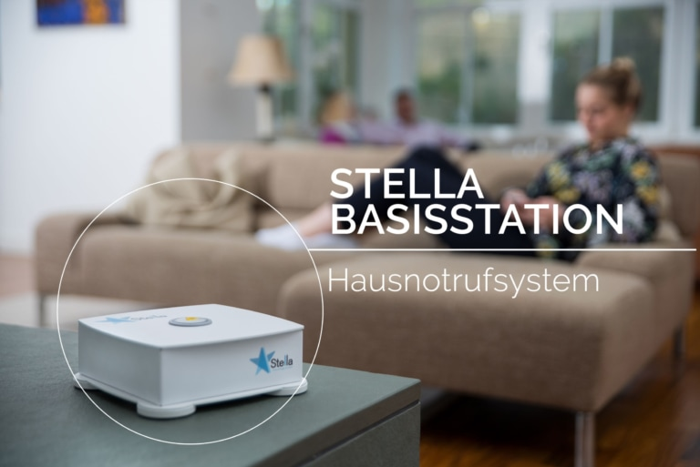 Stella Basisstation des Hausnotrufsystems