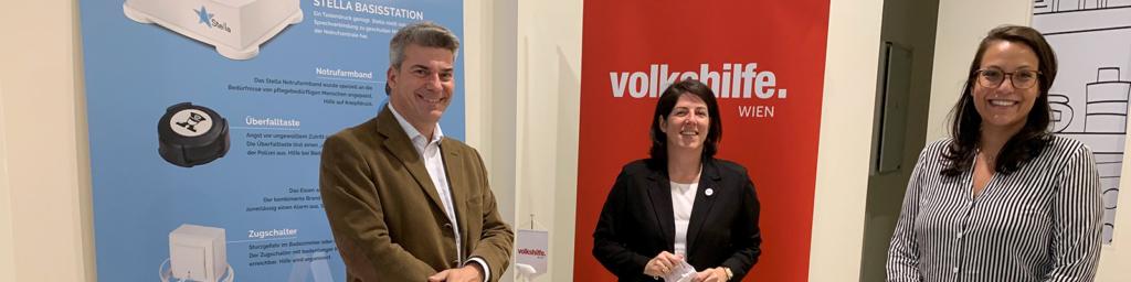 myStella Ambient Assisted Living AAL mit Tanja Wehsely Volkshilfe Wien