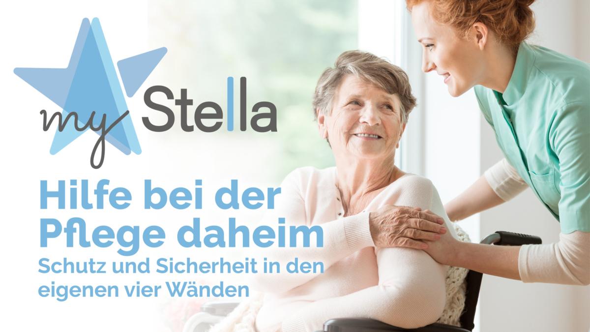 myStella Hilfe bei der Pflege daheim