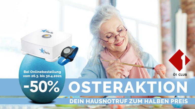 myStella Hausnotruf Ostertarifaktion 2021